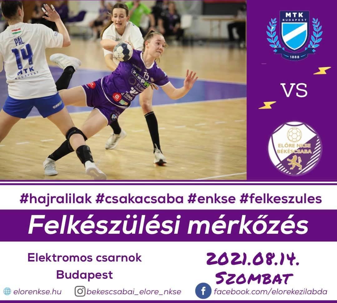MTK Budapest - EUbility Group-Békéscsabai ENKSE
